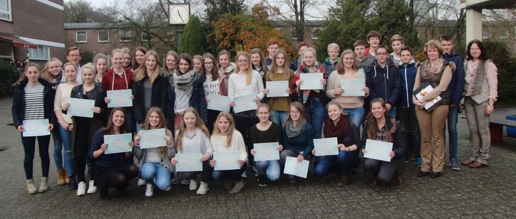 1100 DELF-Diplome am Franziskus