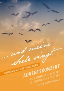 Adventskonzert-Plakat