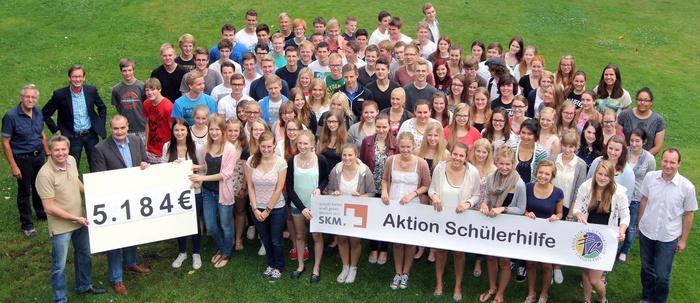 Aktion Schülerhilfe 2014