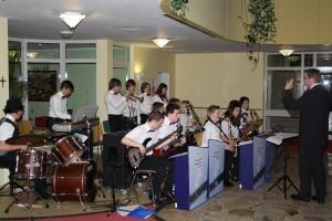 Big Band-Auftritt im Wohnstift Curanum 02