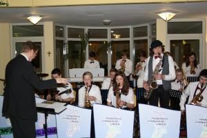 Big Band-Auftritt im Wohnstift Curanum 05