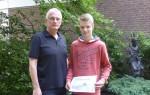 Diercke Wissen 2016 - Schulsieger Simon Wessel