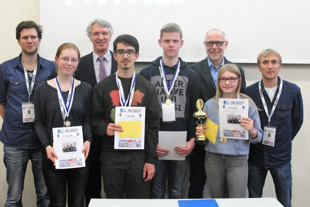 ELMO 2016-17 - Team Franziskus 1 - Sieger in der Altersklasse B