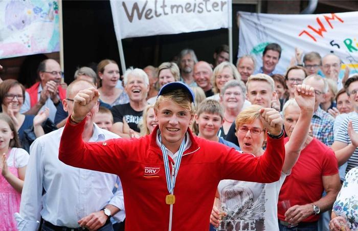 Empfang für Weltmeister Jan Hennecke