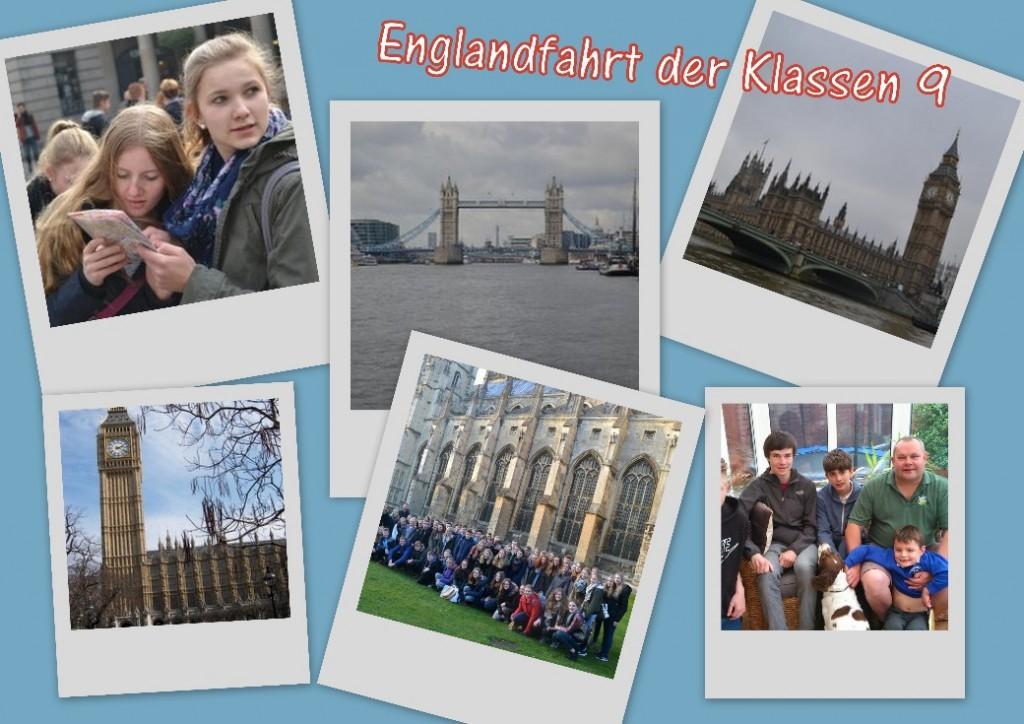 Englandfahrt der Klasse 9