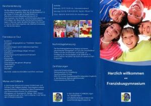 Flyer Franziskusgymnasium 01