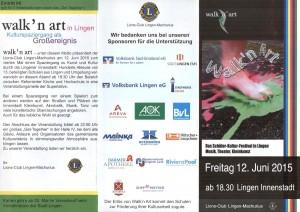 Flyer Walk'n Art Seite 1