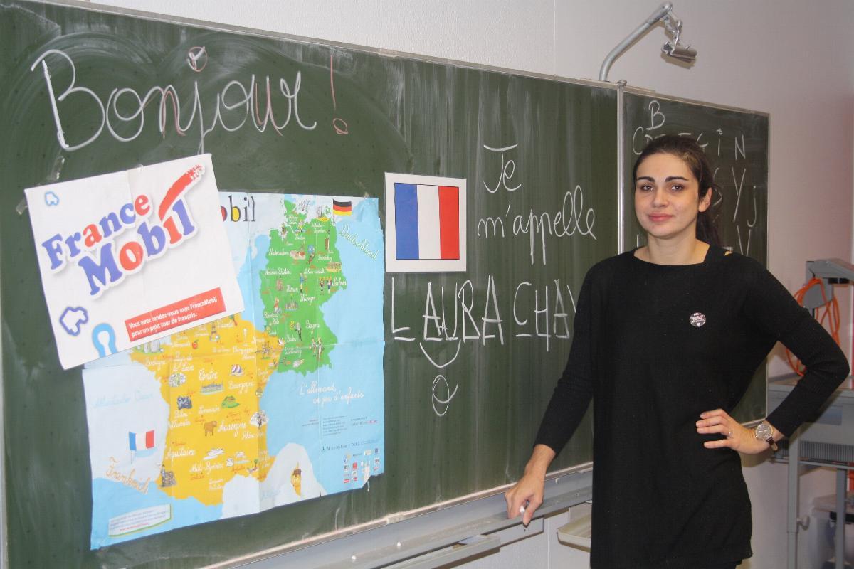 Bonjour La France Am Franziskusgymnasium Franziskusgymnasium Lingen