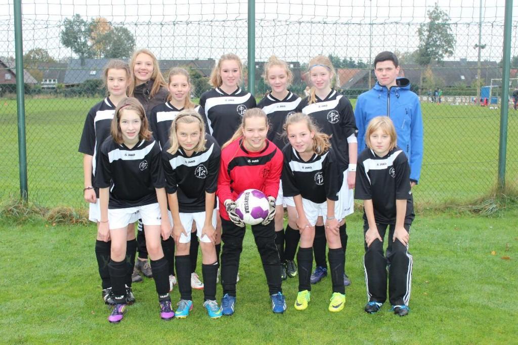 Fußball Mädchen WK III
