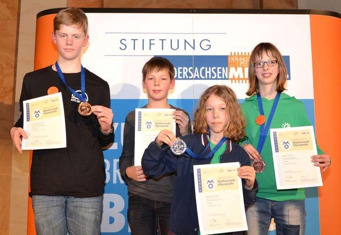 Landesentscheid Mathematikolympiade 05