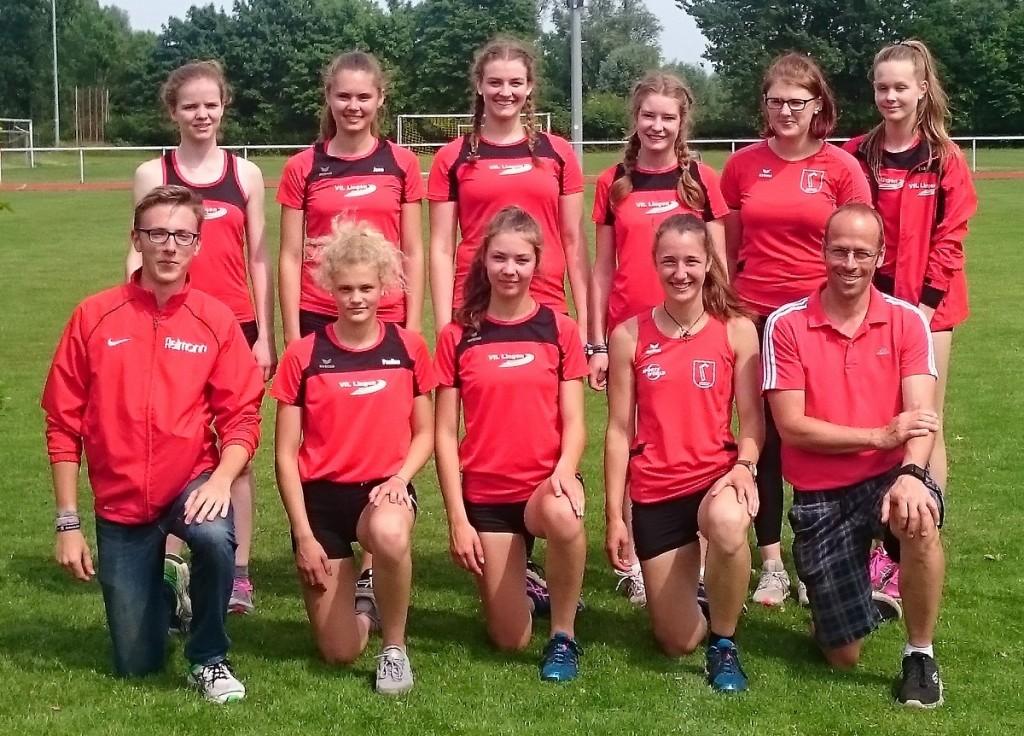 Landesfinale 2017 - Leichtathletik-Team