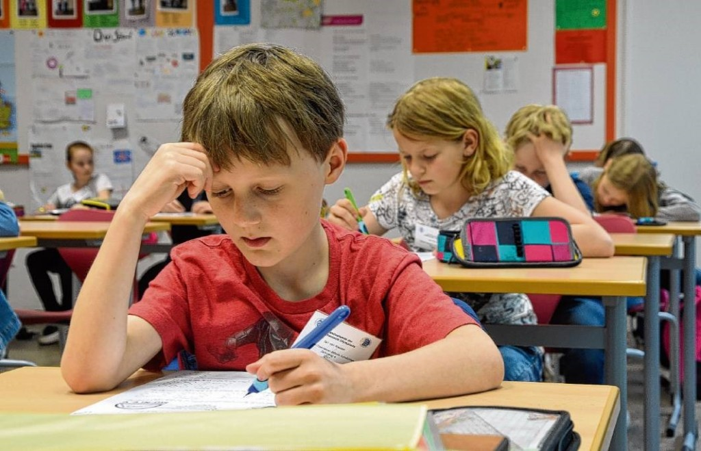 Landesrunde der Mathe-Olympiade für Grundschüler