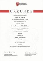 Latein Urkunde 1