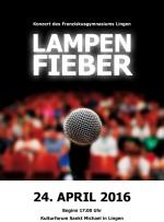 Plakat Lampenfieber