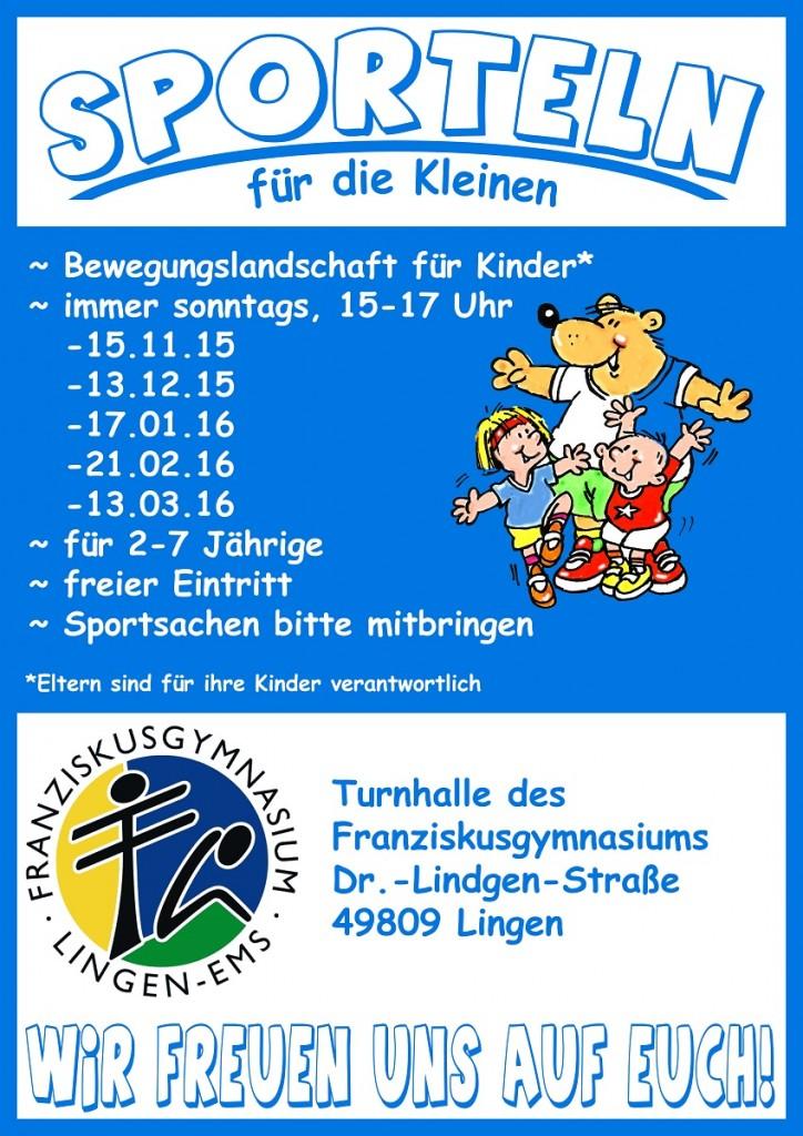 Plakat Sporteln 2015-16