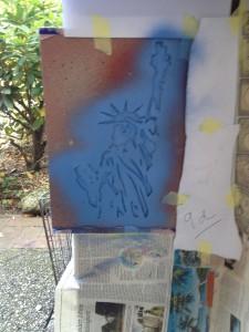 Schablonengraffiti 06