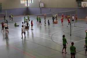 Schulinternes Volleyballturnier 01