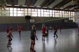 Schulinternes Volleyballturnier 02