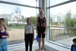 Schulschwimmfest 2015 - 03 - Siegerehrung Brustschwimmen (Jg. 2003)