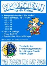 Sporteln 2017-2018 - Plakat