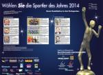 Sportler des Jahres 2014
