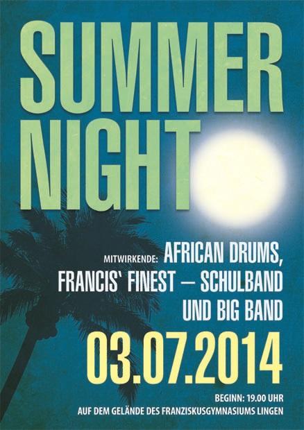 Summernight 2014 - Plakat
