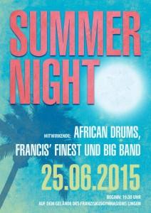 Summernight 2015 - Plakat