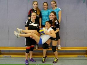 Die süzzen Volleyballgirlz