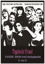 Typisch Frau - Plakat