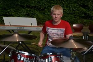 Unser Drummer Dennis