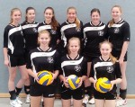 Volleyball-Schulmannschaft WK II