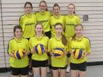Volleyball-Schulmannschaft WK III