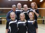 Volleyballerinnen zum Bundesfinale 2017