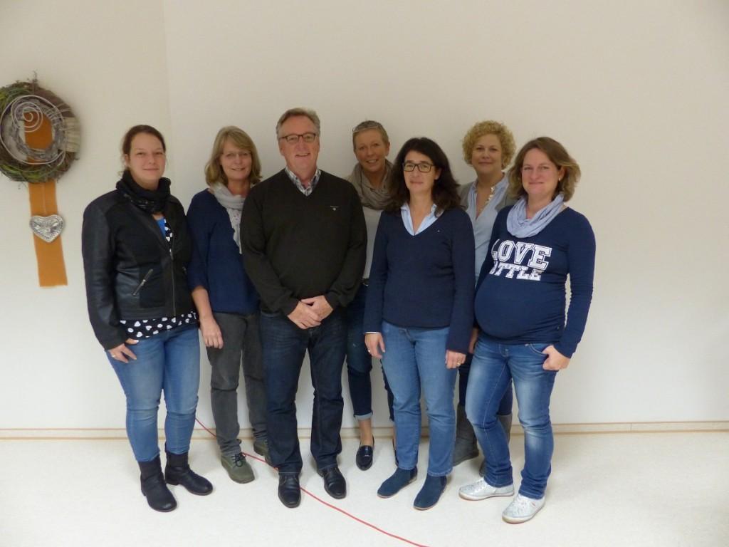 Vorstand des Schulelternrates im Schuljahr 2015-16